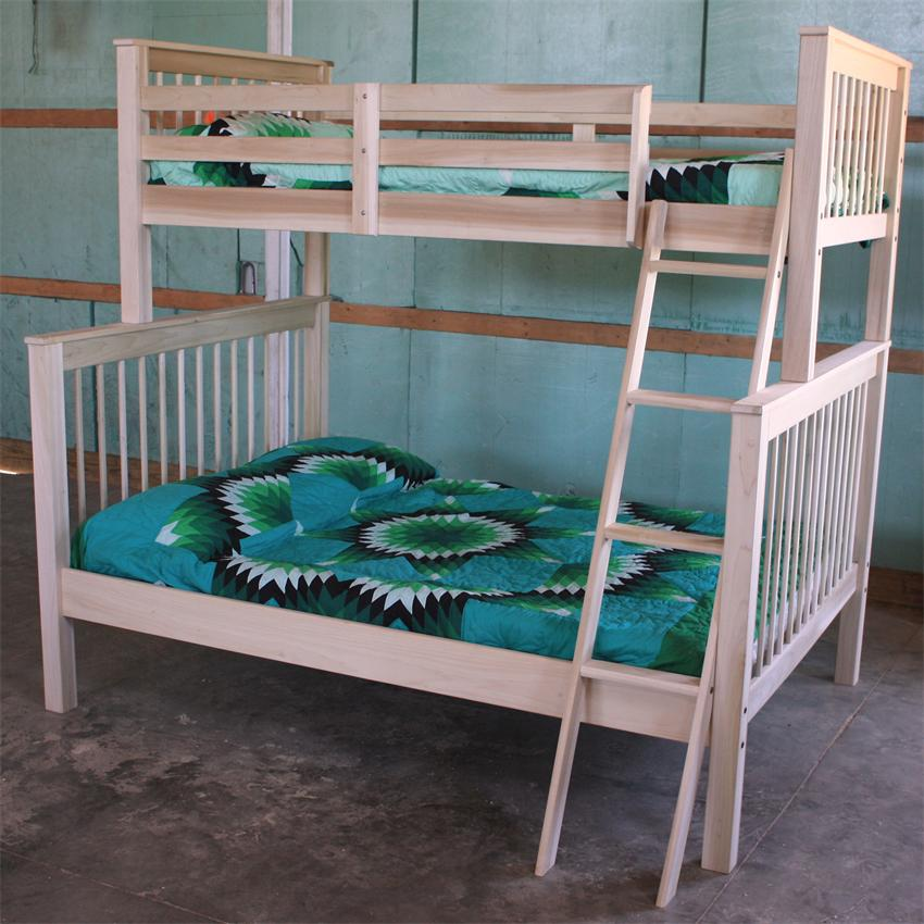 Woodwork Built In Bunk Bed Plans Twin Over Full PDF Plans