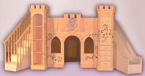 Princess Castle Bed Plans | BED PLANS DIY & BLUEPRINTS